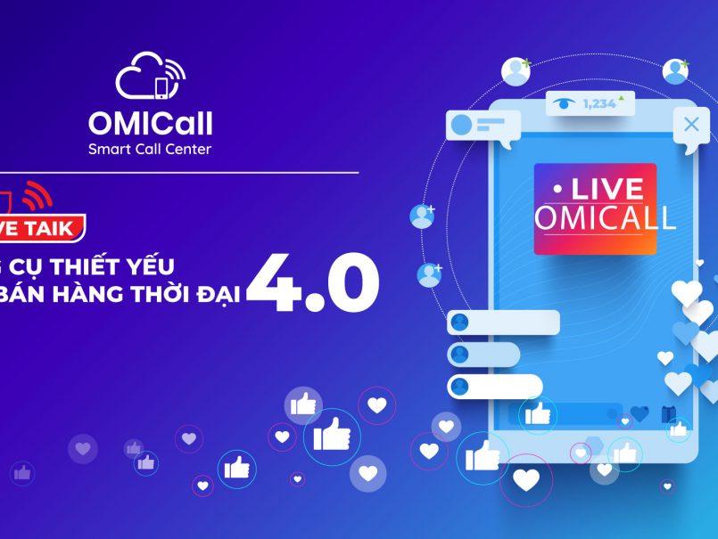 OMI Live Talk: công cụ thiết yếu cho bán hàng thời đại 4.0